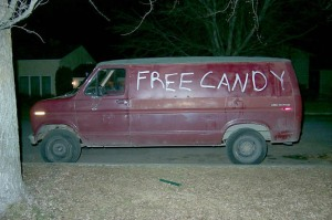 Creepy-van
